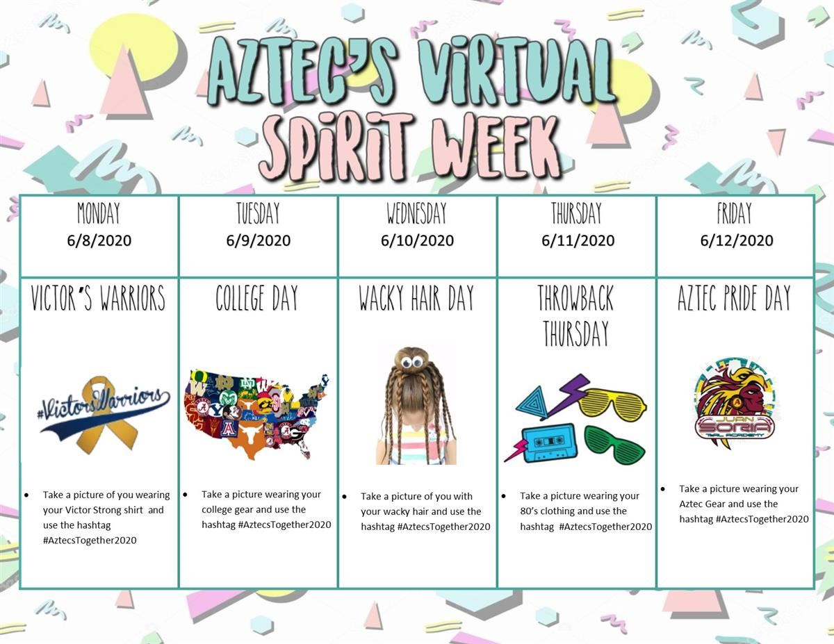Virtual Spirit Week 10