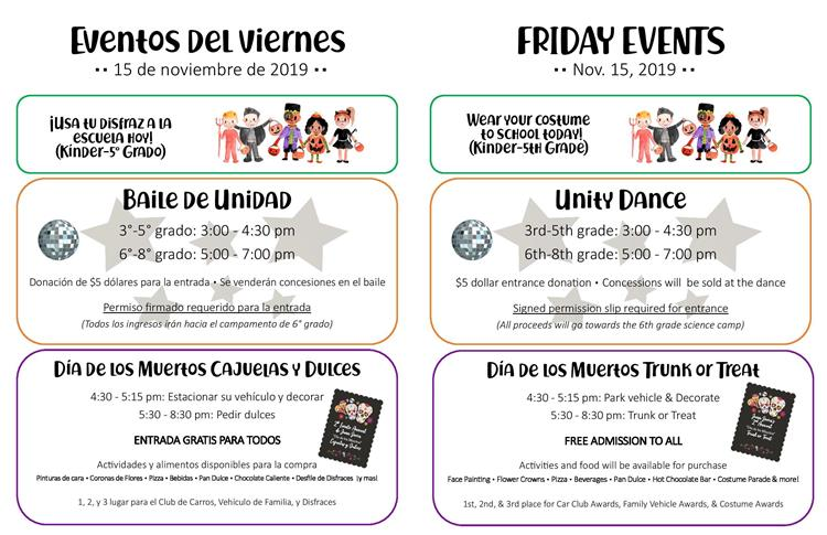 Friday Events