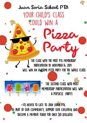 PTA Pizza Party