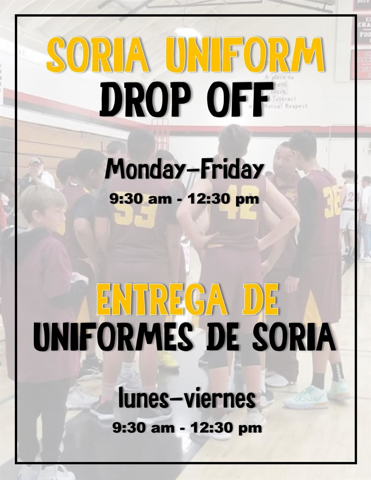 Uniform Drop Off