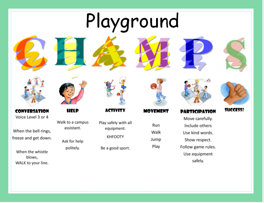 CHAMPS in the Playground