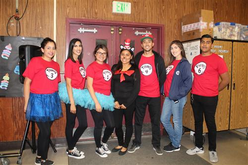 After School staff from left to right: Maria L., Lisette G, Bianca O., Janet C., Arnulfo D., Celeste M., Kenny H.
