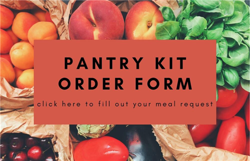 Meal Kit Order Form