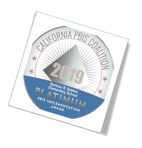 PBIS Platinum Award