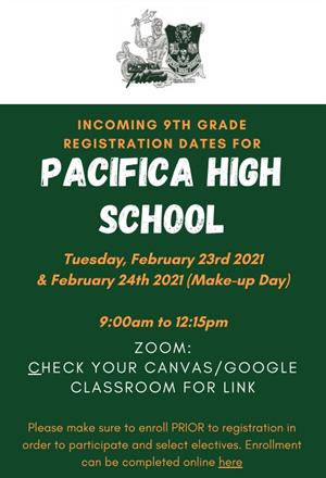 Pacifica Registration