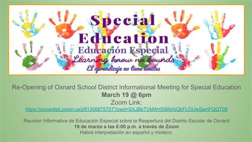 Special Education 3-19-21